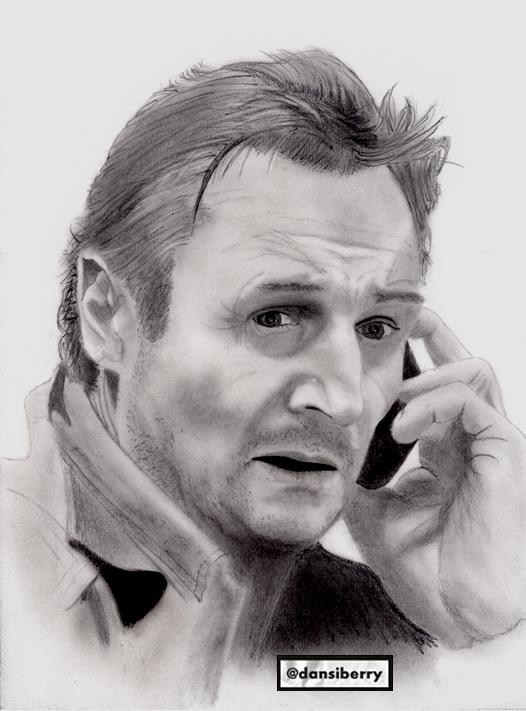 Liam Neeson by edoode